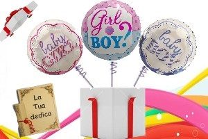 3 PALLONCINI Baby Shower