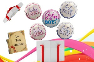 5 Palloni baby shower